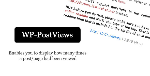 wp post views wordpress