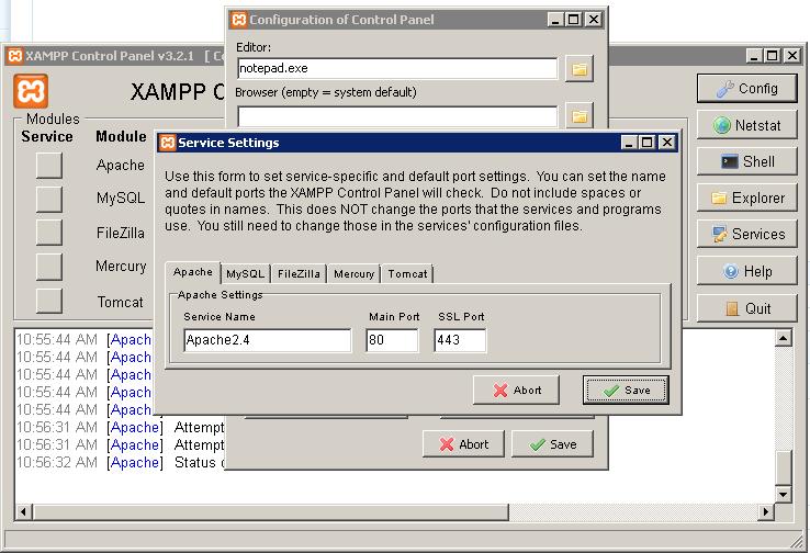 change port for xampp - hoangweb.com