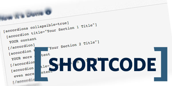 shortcode wordpress