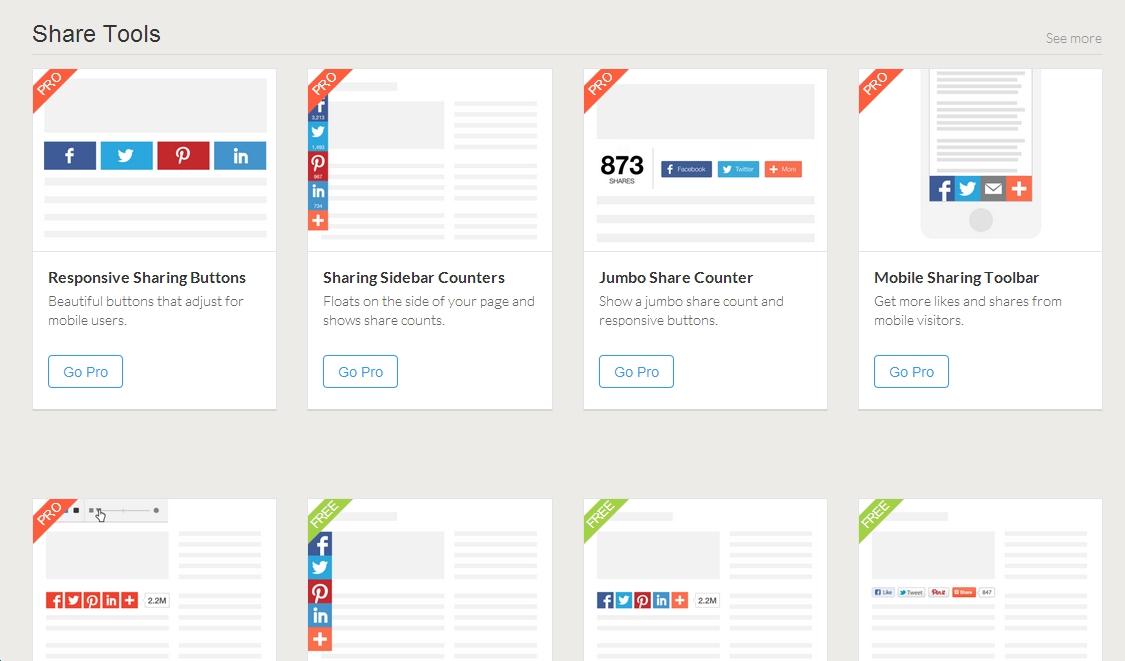 công cụ chia sẻ bài viết social share