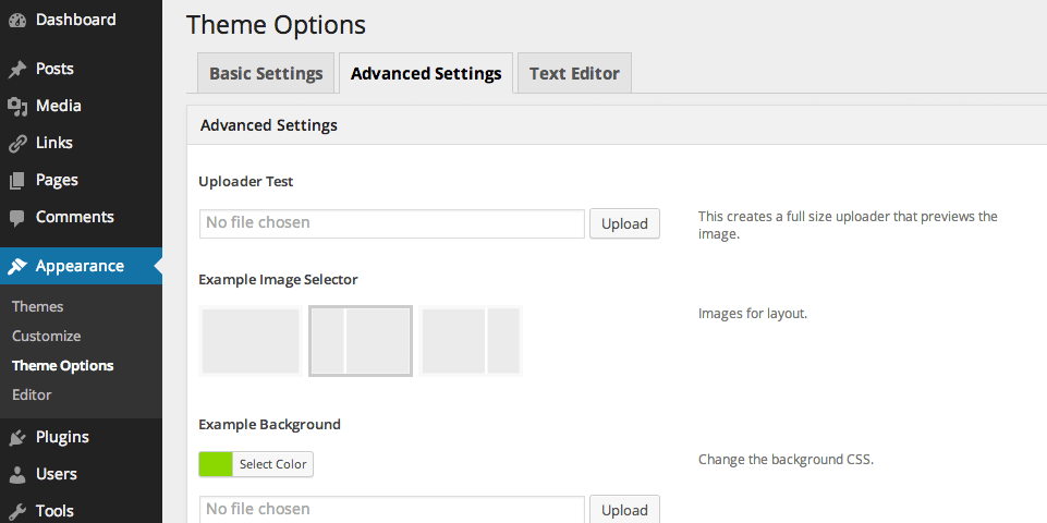 option-framework-plugin