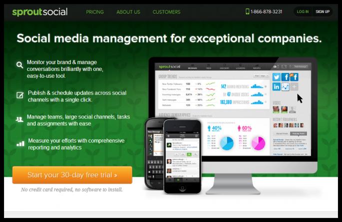 social media tool - sproutsocial