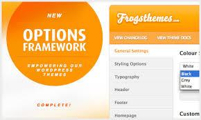 theme option framework