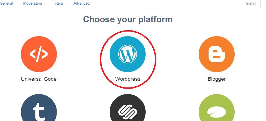 cài đặt disqus cho wordpress