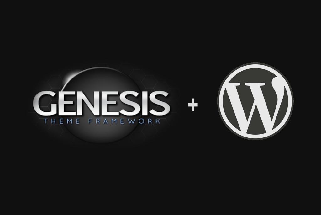 cài đặt genesis framework và genesis child theme