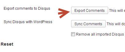 Chuyển comment WordPress sang Disqus