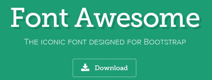 cài đặt font awesome