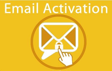 kích hoạt tài khoản qua email