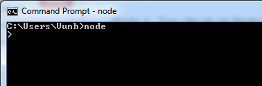 node windows