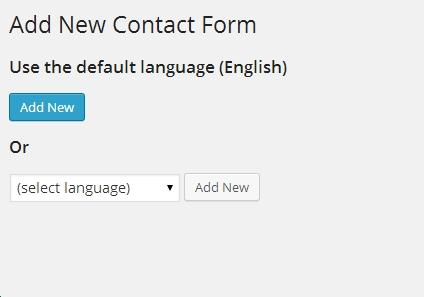 tạo form liên hệ trong wordpress với contact form 7