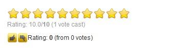 tính năng gd star rating