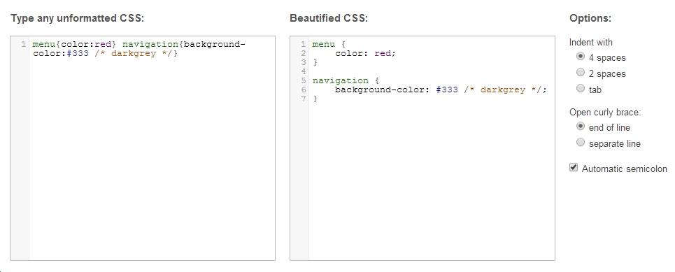 cssbeautify-web
