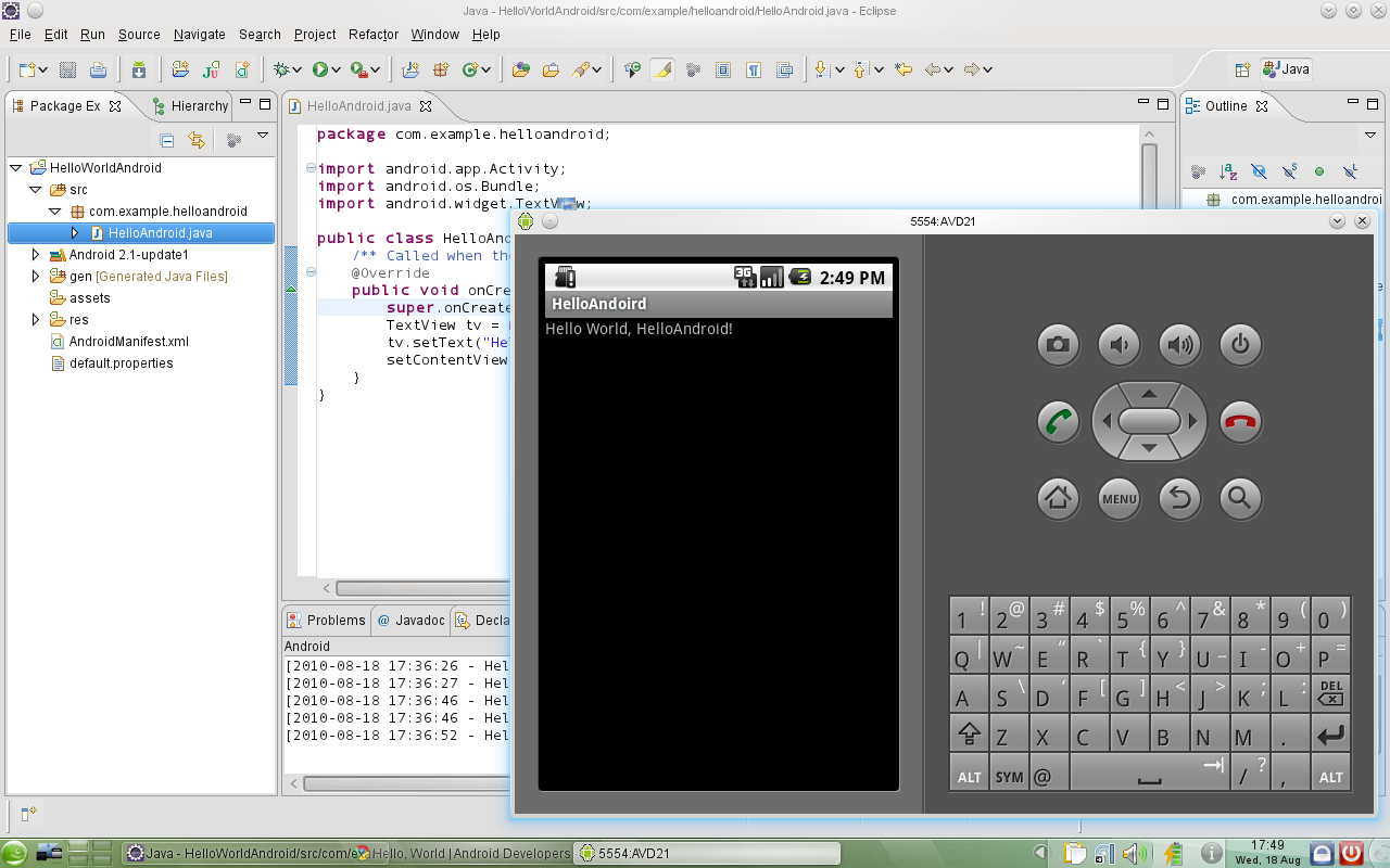 eclipse-android-dev