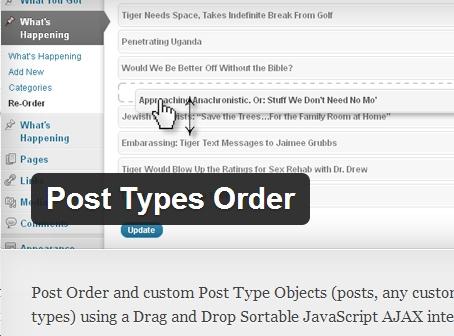 xắp xếp bài viết cho custom post type