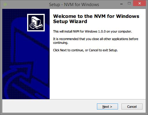 nvm-windows