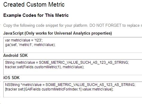 create-metric-ga