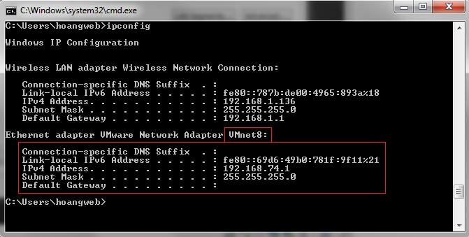 vmware-network-adapter