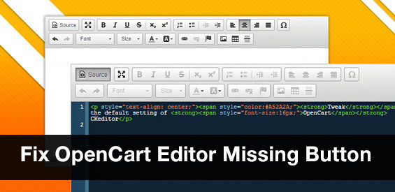 fix-opencart-ckeditor-missing-buttons