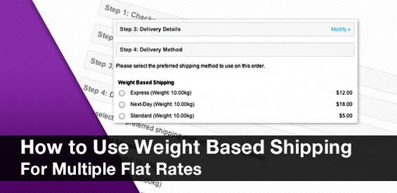nhiều flat rate shipping trong opencart
