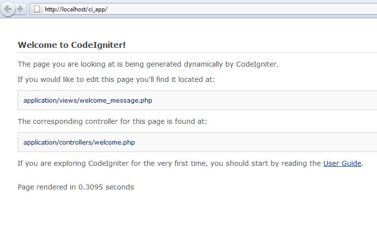running-codeigniter-firsttime