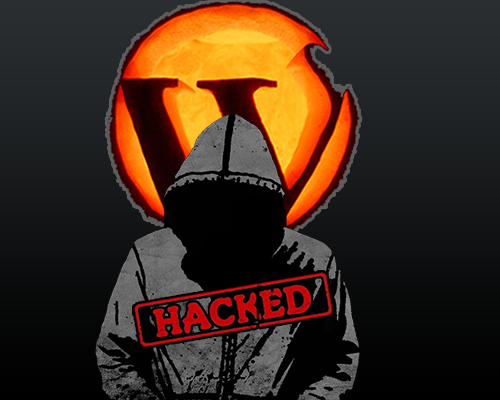 wordpress bị  hacked