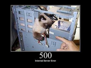 Sửa lỗi 500 Internal Server Error trong WordPress