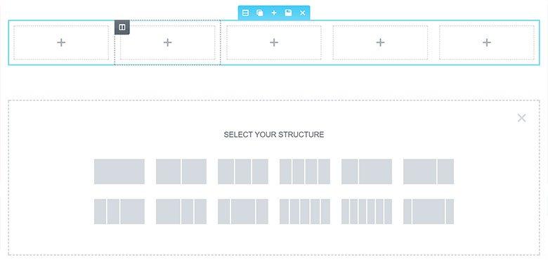 Elementor layout